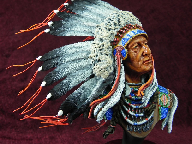Figures: Indian chief, photo #1
