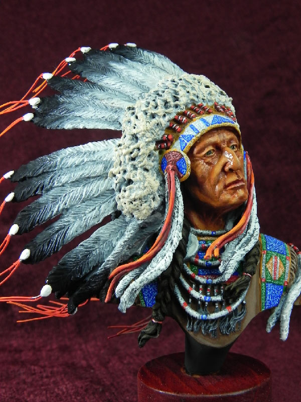 Figures: Indian chief, photo #2