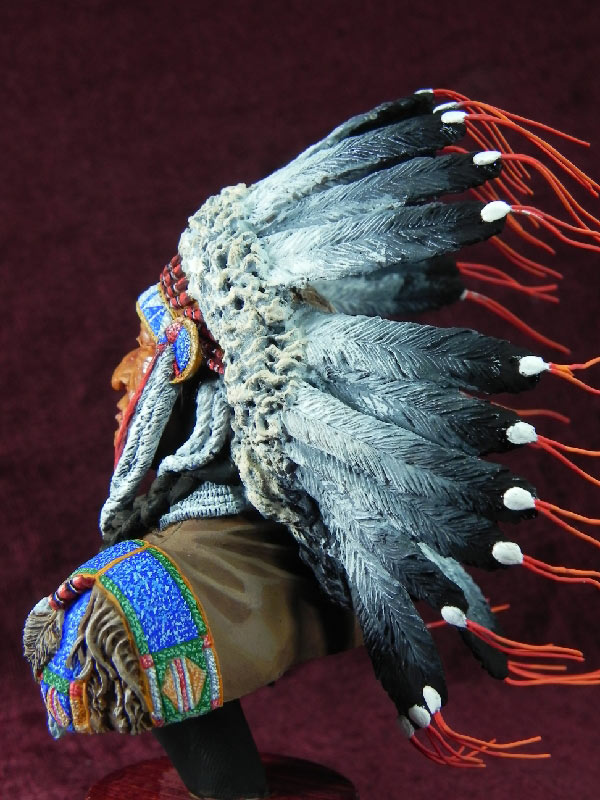 Figures: Indian chief, photo #3