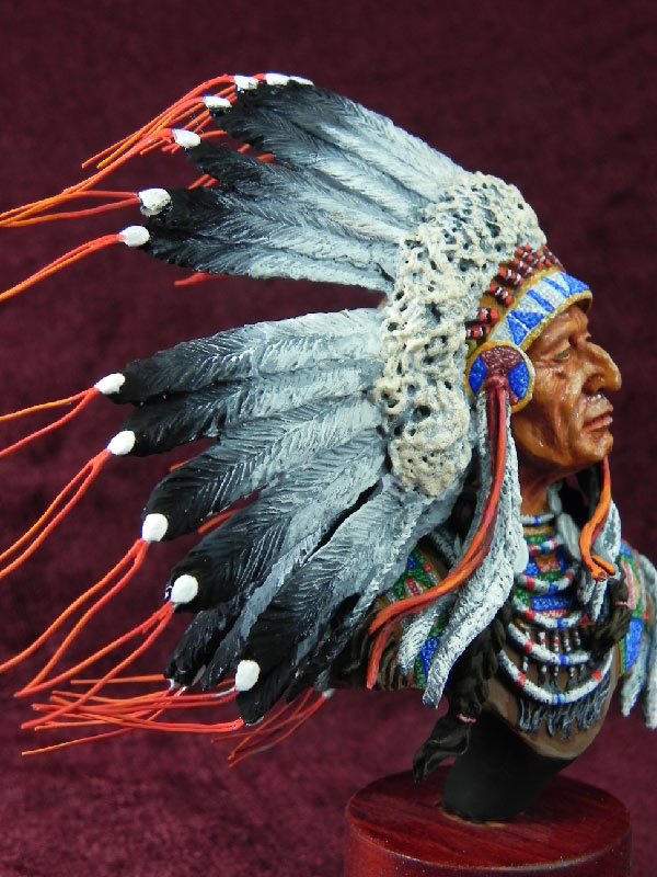 Figures: Indian chief, photo #5