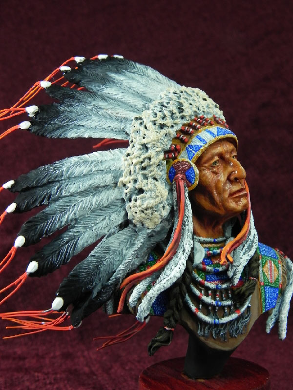 Figures: Indian chief, photo #6