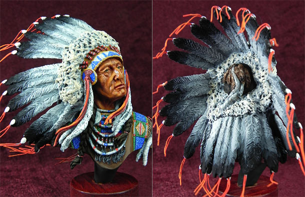 Figures: Indian chief