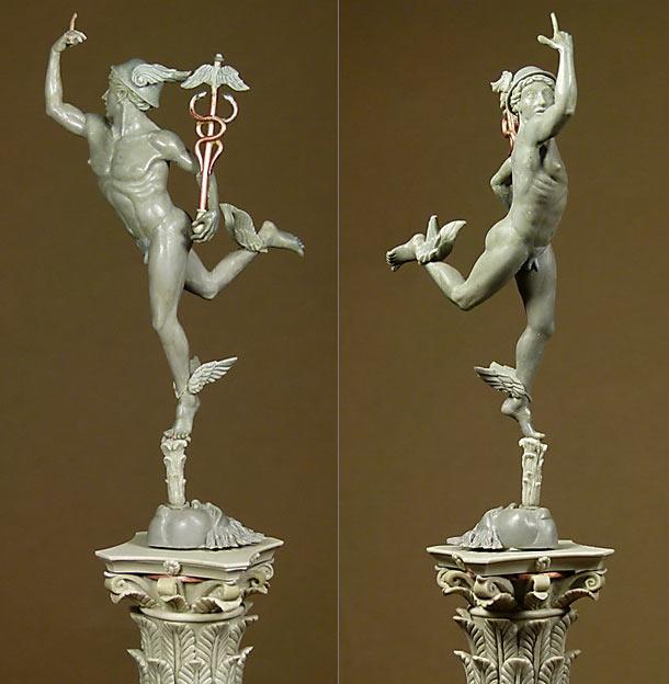 Sculpture: Hermes