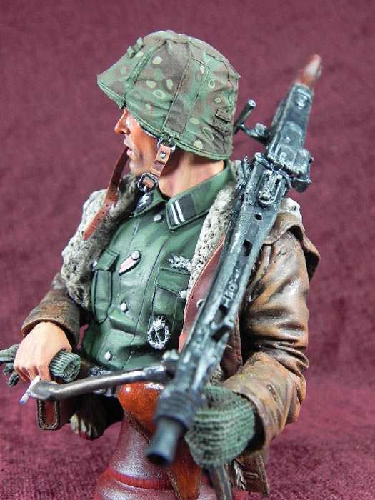 Figures: German machine gunner, photo #6