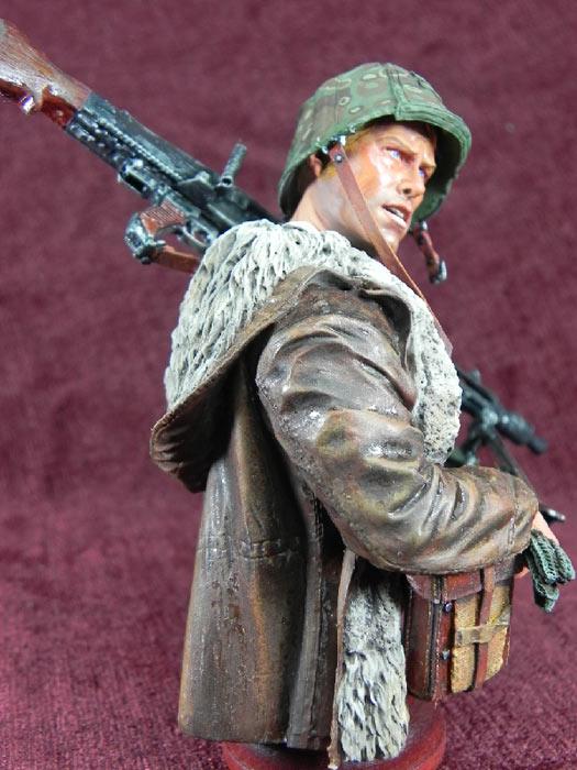 Figures: German machine gunner, photo #7