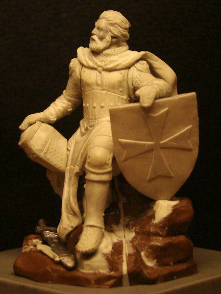 Sculpture: Knight, photo #1