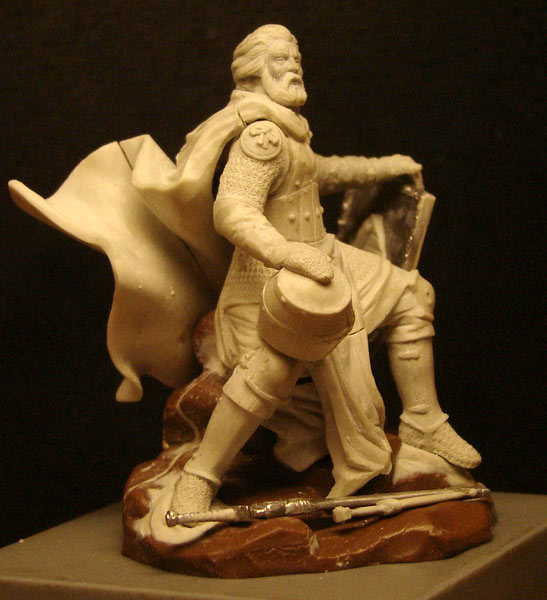 Sculpture: Knight, photo #2