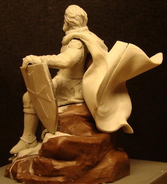 Sculpture: Knight, photo #3