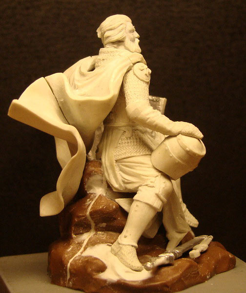 Sculpture: Knight, photo #5