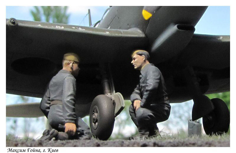 Dioramas and Vignettes: Working days on the airfild, photo #14