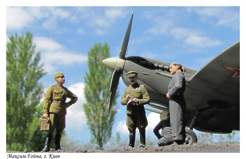 Dioramas and Vignettes: Working days on the airfild, photo #7