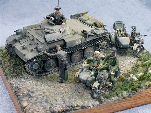 Dioramas and Vignettes: Field Repair