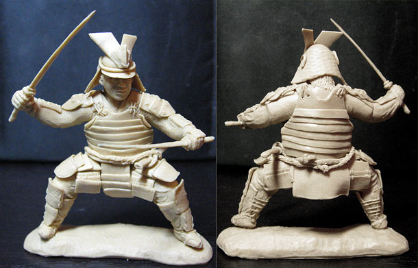 Sculpture: Samurai