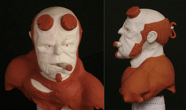 Sculpture: Hellboy