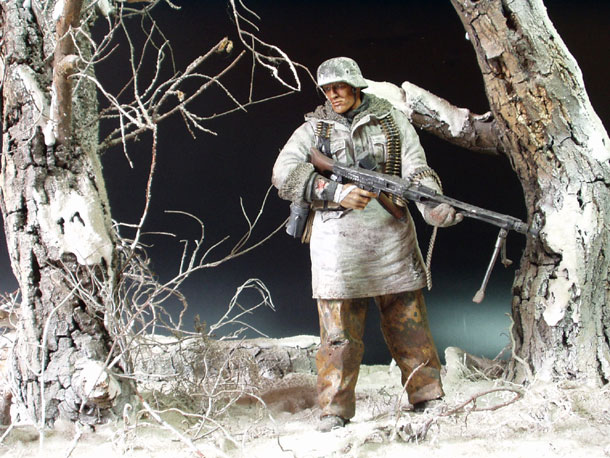 Dioramas and Vignettes: Wehrmacht Soldier