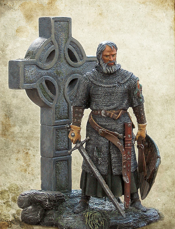 Figures: Irish knight, XIV century, photo #2