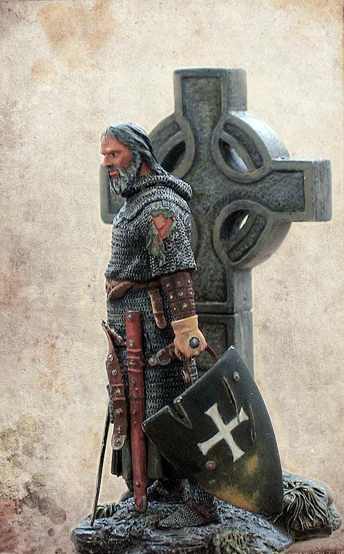 Figures: Irish knight, XIV century, photo #4