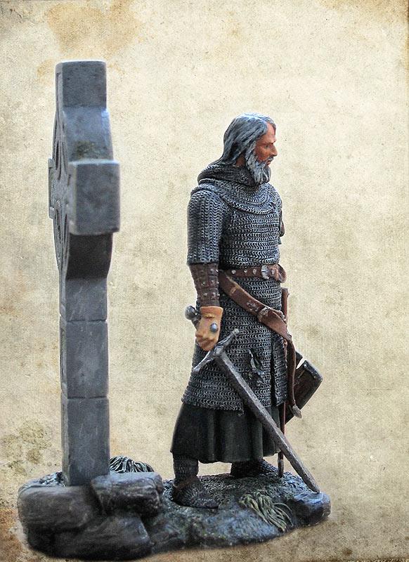 Figures: Irish knight, XIV century, photo #5