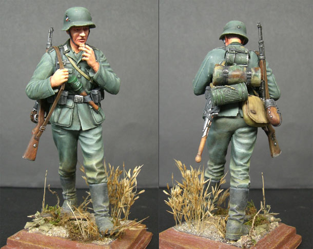 Figures: German infantryman