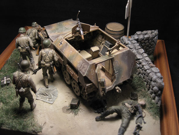 Dioramas and Vignettes: Changing position