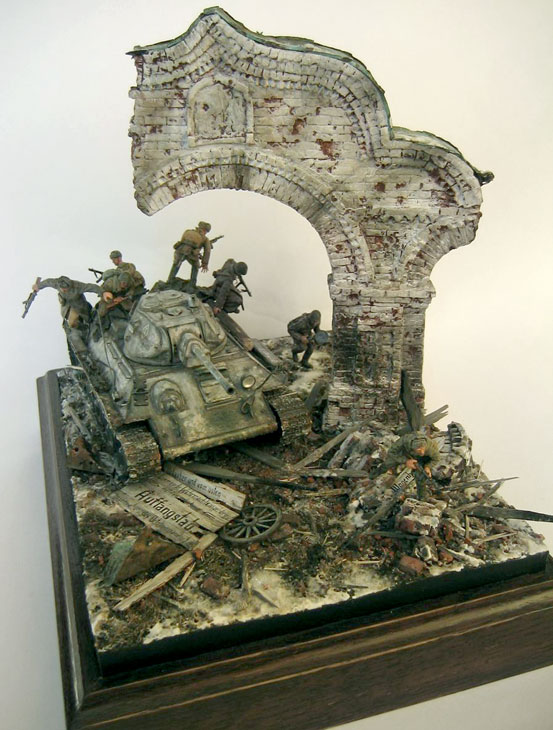 Dioramas and Vignettes: Triumphal Arch, photo #1