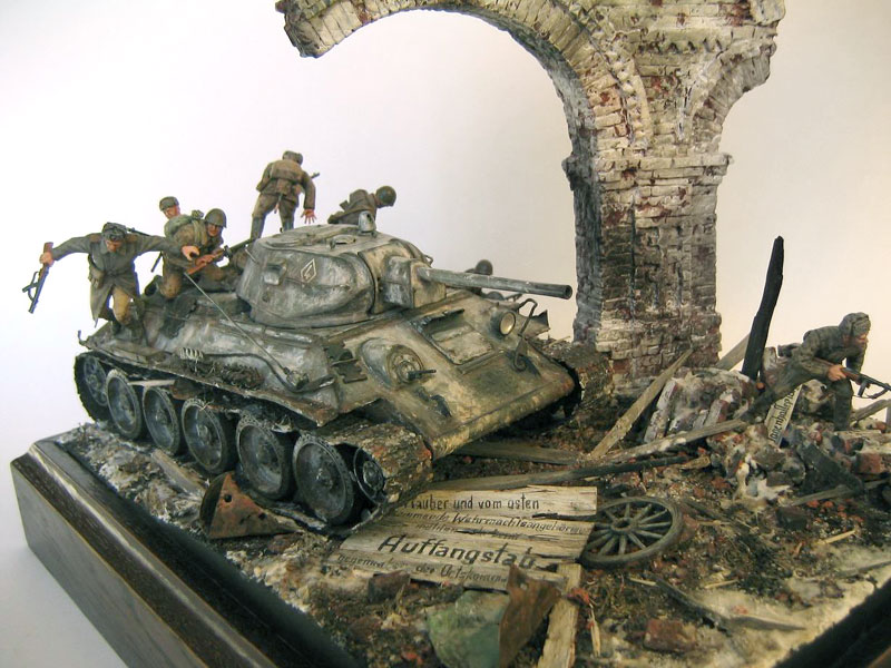 Dioramas and Vignettes: Triumphal Arch, photo #2