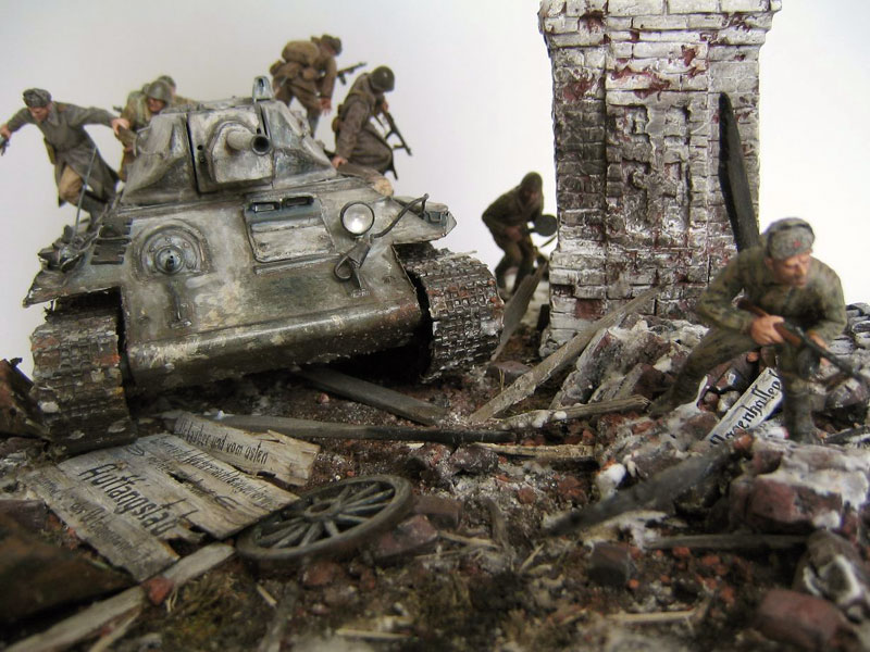 Dioramas and Vignettes: Triumphal Arch, photo #3
