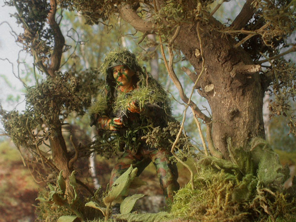 Dioramas and Vignettes: Sniper
