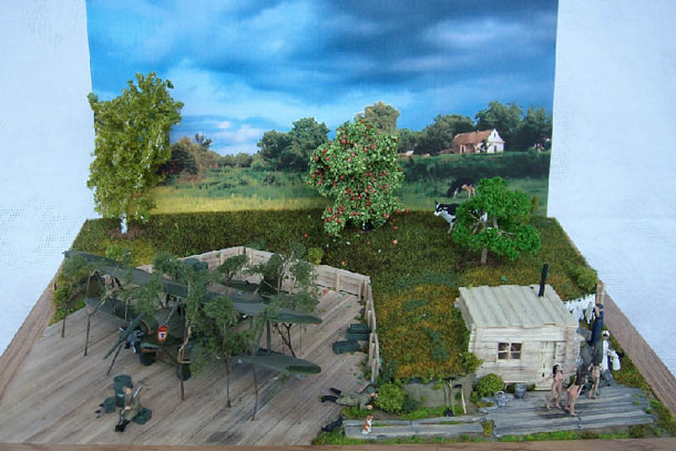 Dioramas and Vignettes: Night Witches: the bathing day
