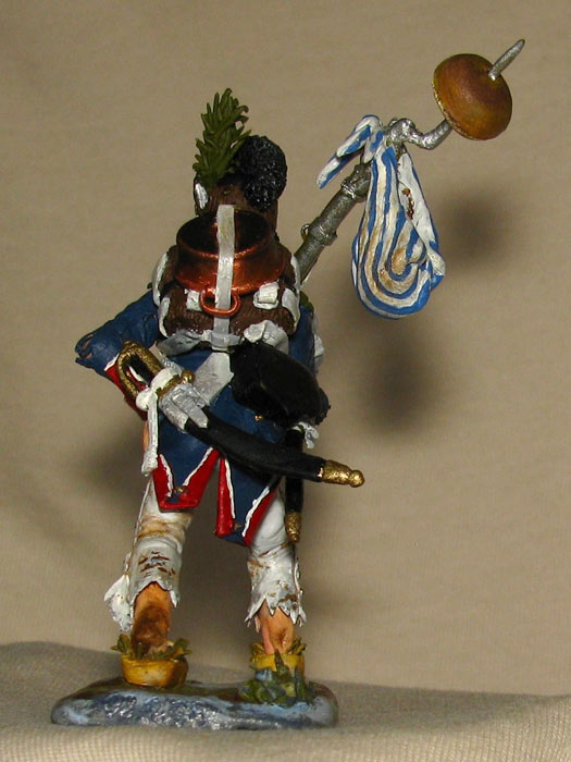 Training Grounds: Spanish pioneer and French infantryman, photo #13