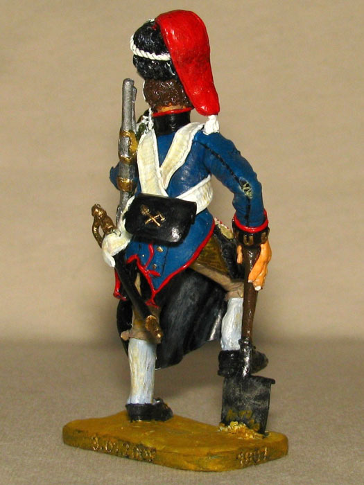Training Grounds: Spanish pioneer and French infantryman, photo #6