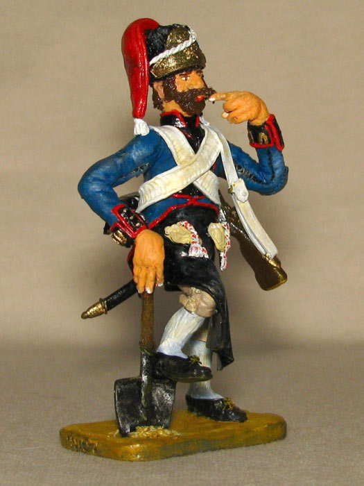 Training Grounds: Spanish pioneer and French infantryman, photo #8