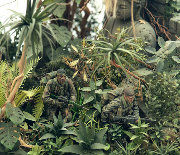 Dioramas and Vignettes: LRRP