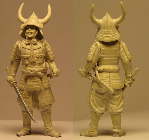 Sculpture: Samurai