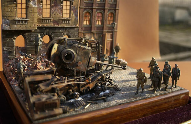 Dioramas and Vignettes: May morning in Berlin, 1945