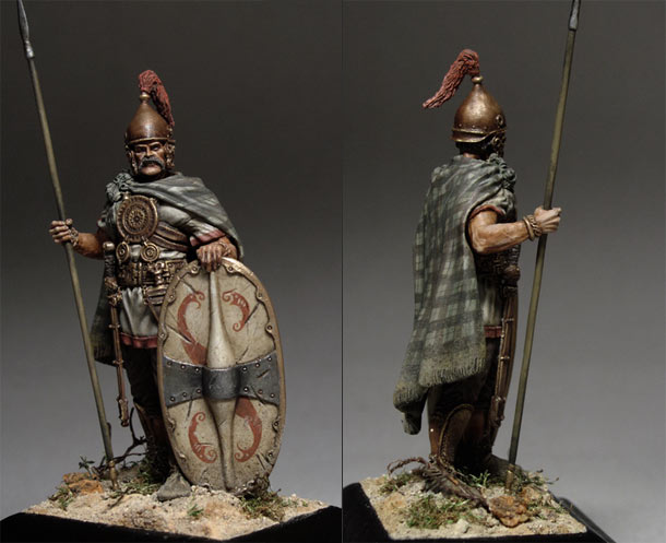 Figures: Celtic-Iberian warrior