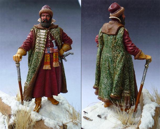 Figures: Russian strelets commander