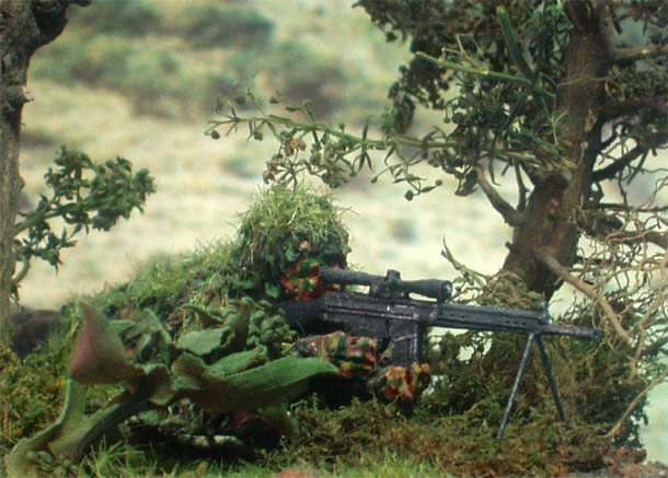 Dioramas and Vignettes: Sniper 2
