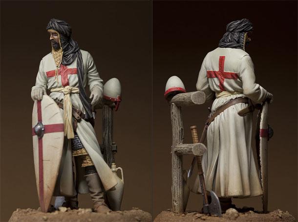 Figures: Monk warrior