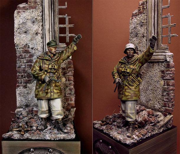 Figures: WSS Grenadier, Wiking div.