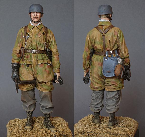 Figures: Luftwaffe paratrooper