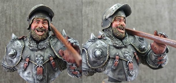 Figures: Merry fellow with an axe