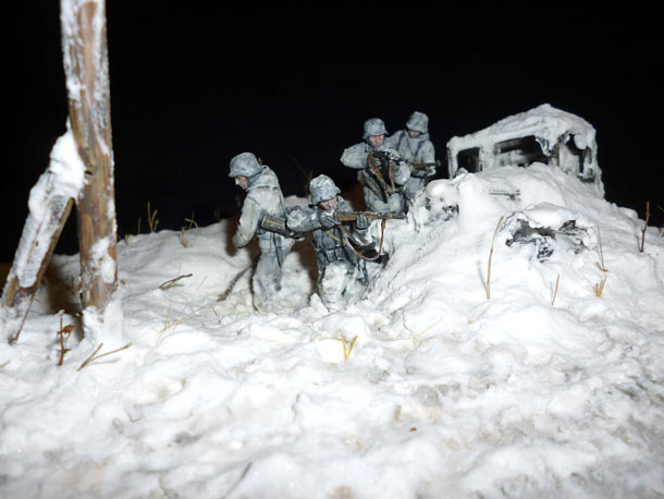 Dioramas and Vignettes: Winter 1943