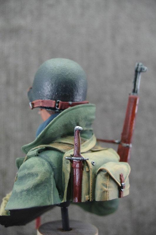 Figures: U.S. infantryman, winter 1944-45, photo #3