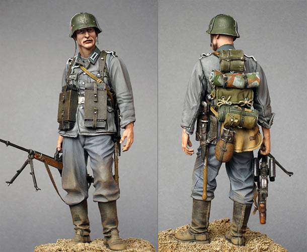 Figures: On the Maginot Line