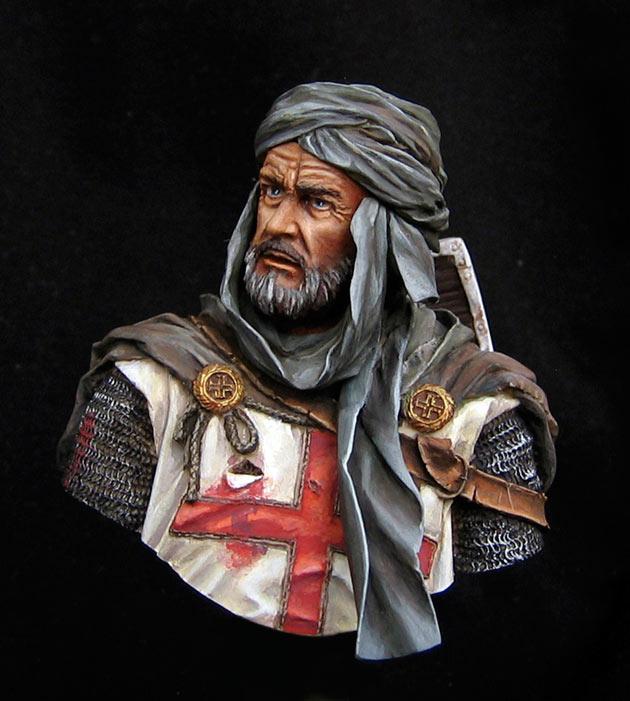 Figures: Templar knight, Jerusalem, photo #1