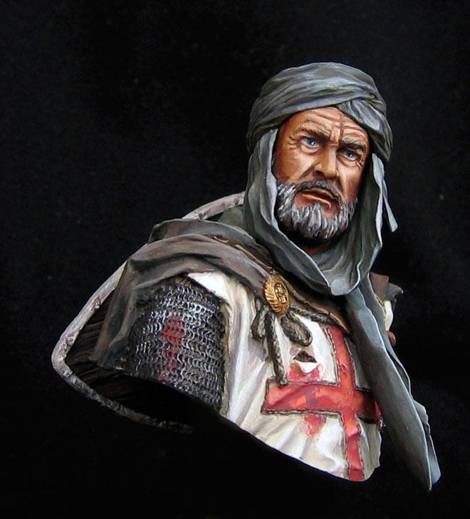 Figures: Templar knight, Jerusalem, photo #2