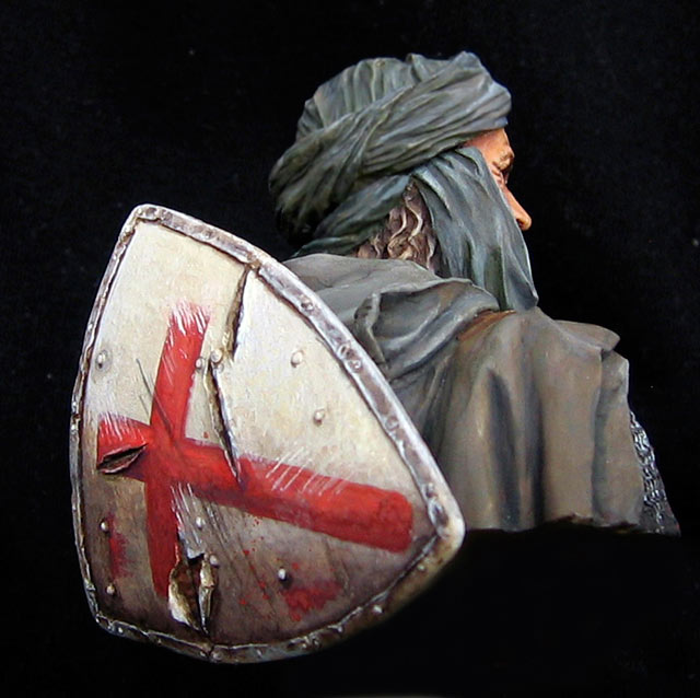 Figures: Templar knight, Jerusalem, photo #4