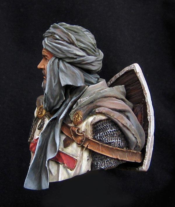 Figures: Templar knight, Jerusalem, photo #7