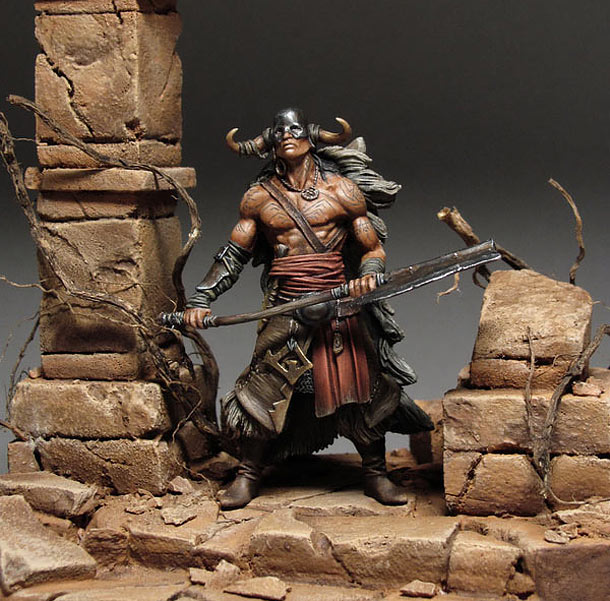 Dioramas and Vignettes: By This Axe I Rule!